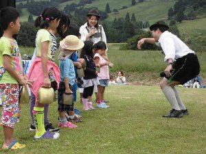 六呂師高原アルプス音楽祭2015 アルプス音楽団 チビッ子たちのクーグロッケン体験/どこまでもアマチュア