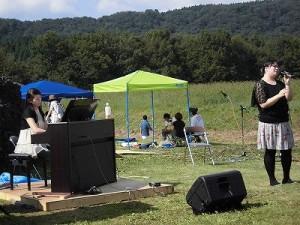 六呂師高原アルプス音楽祭2015 ウタノオトは二人のユニット/どこまでもアマチュア