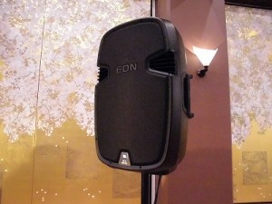 お城でゴスペルⅢ JBL 500 Series EON 515XT Self Powered Loudspeaker/どこまでもアマチュア