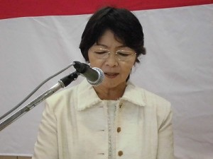平成27年度下庄地区敬老会 MC 清水 節子氏/どこまでもアマチュア