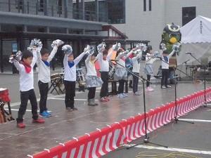 結の故郷 越前おおの 新そばまつり2015 あかね保育園児アトラクション踊り/どこまでもアマチュア