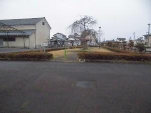 越前東郷駅を見てきました。 公園らしき施設/どこまでもアマチュア