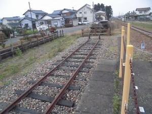 越前東郷駅を見てきました。 支線の行き止まり/どこまでもアマチュア