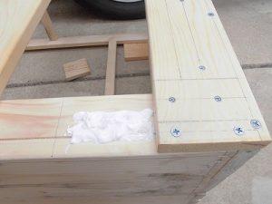 日曜大工教室~我流か自己流か編 木工ボンド塗り/どこまでもアマチュア