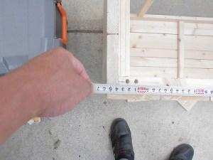日曜大工教室~我流か自己流か編 天板のサイズ確認/どこまでもアマチュア