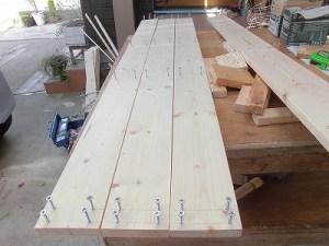 日曜大工教室~我流か自己流か編 他の天板の取り付け作業継続/どこまでもアマチュア