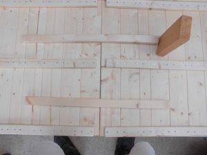 日曜大工教室~我流か自己流か編~ 扉の取り付け完了/どこまでもアマチュア