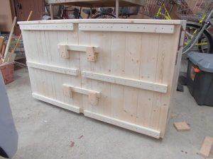 日曜大工教室~我流か自己流か編~ 木工作業完了/どこまでもアマチュア