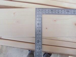 日曜大工教室~我流か自己流か編~ 1×4の幅を計測/どこまでもアマチュア