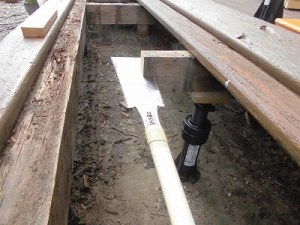 日曜大工教室~基礎からやり直し編~ 切断した根太の加工/どこまでもアマチュア