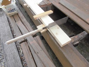 日曜大工教室~基礎からやり直し編~ 購入してきたSPF2×4材の切り出し/どこまでもアマチュア