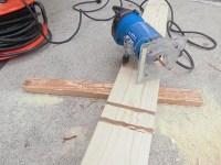 日曜大工教室~基礎からやり直し編~ 溝彫り作業をトリマーでやってみた/どこまでもアマチュア