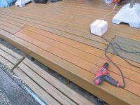 日曜大工教室~基礎からやり直し編~ 床板の取り付け-ビスの打ち込み後-/どこまでもアマチュア