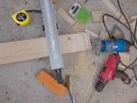 日曜大工教室~基礎からやり直し編~ 床板の切り出しを進める/どこまでもアマチュア