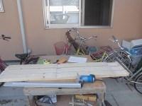 日曜大工教室~基礎からやり直し編~ 床板の切り出し3枚目終了/どこまでもアマチュア