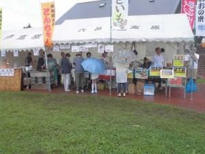 ミルク工房奥越前 六呂師高原の時計台さんのテント