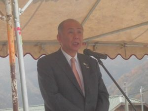 大野市長 岡田高大(おかだ たかお)氏