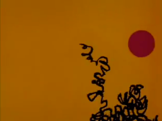 Screenshot from Dot and Line Cartoon