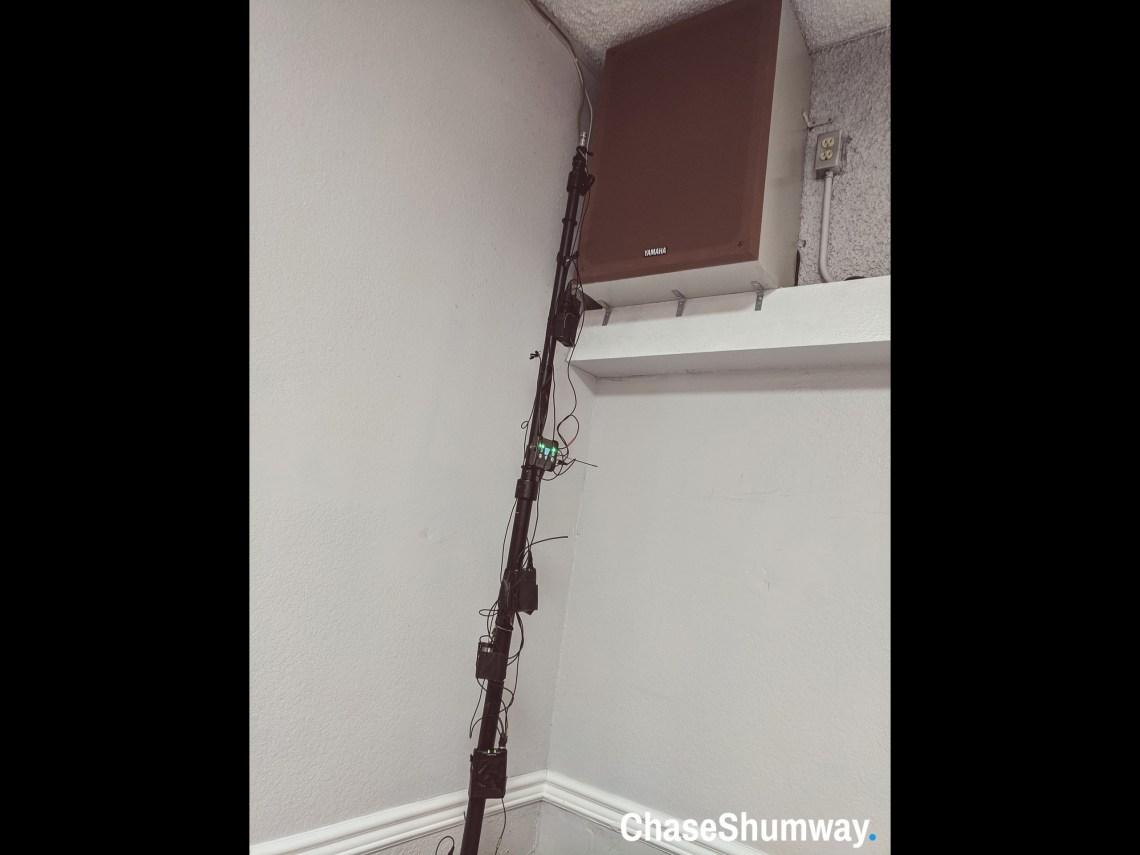 Mics On A Pole