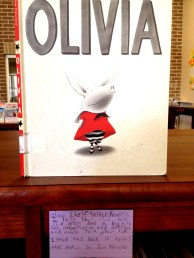 Olivia, reviewed by Kearstin