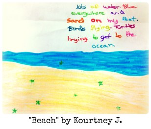 Beach by Kourtney J.