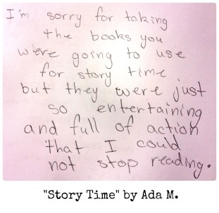 Story Time by Ada M.
