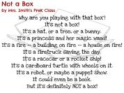 Not a Box by Mrs. Smith's PreK Class