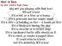 Not a Box by Mrs. Smith's PreK Class