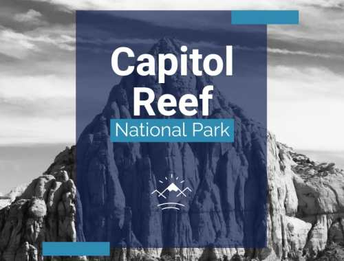 Capitol Reef National Park Cover