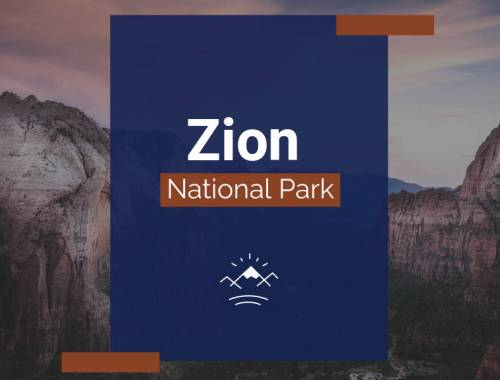 Zion National Park Cover Photo