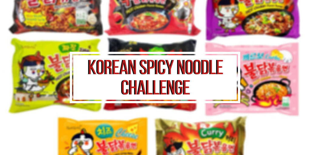 Korean Spicy Noodle Challenge