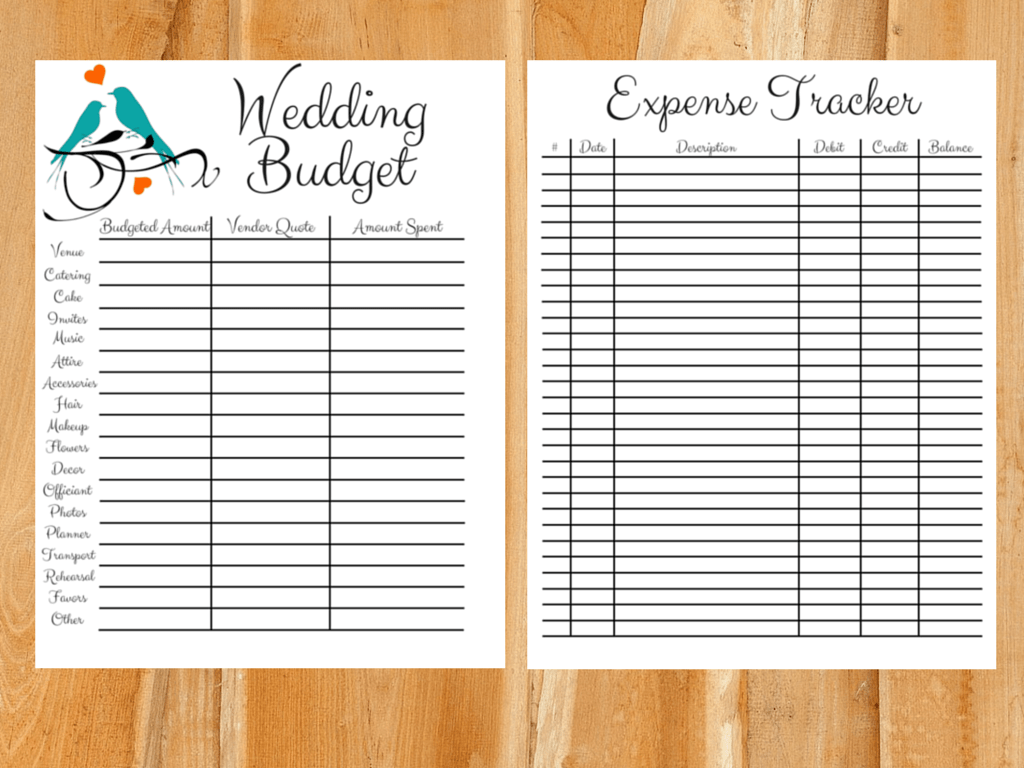 Setting A Wedding Budget Realistically