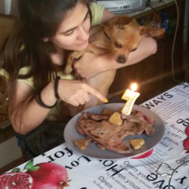 big party, luciano, giulia, birthday celebrations