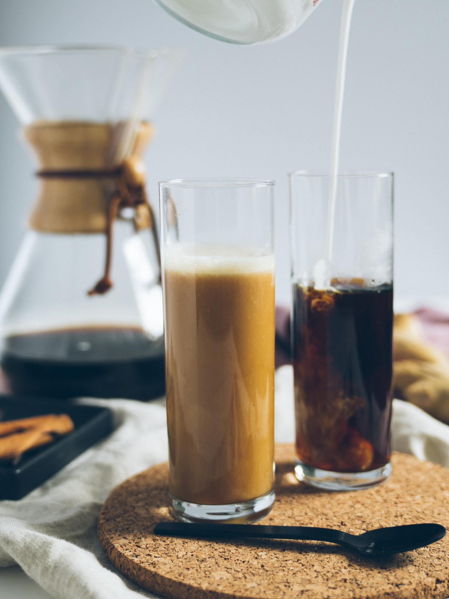 Ginger+Lemon+Grass+Pour+Over+Iced+Coconut+Coffee