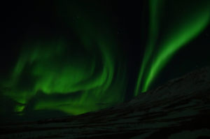 Northernlights seen with camera