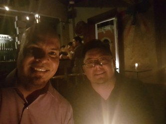 Jose aus Puerto Rico und Andrés aus New Jersey