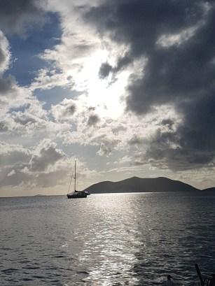 Abendstunden auf unserem Boot