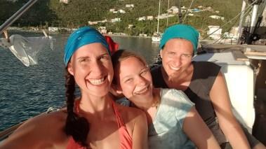 Die drei Bootsfrauen