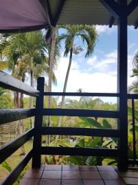 Der Ausblick von unserer tollen Terrasse