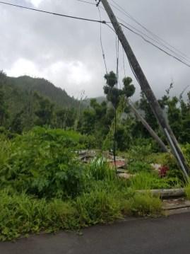 In manchen Gegenden gibt es selbt acht Monate nach dem Hurrikan noch keinen Strom