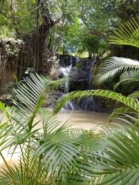 La Tille Waterfall St Lucia