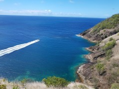 View from Fort Rodney on Pigeon Island