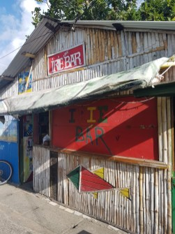 Bar at Gros Islet, St Lucia
