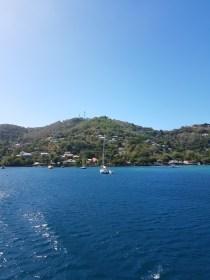 Letzter Blick auf die Bucht in Bequia