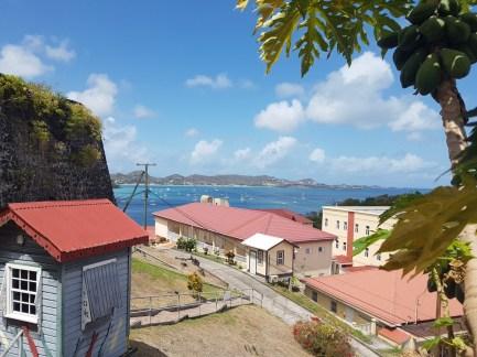 Blick vom Fort George, mitten in der Stadt
