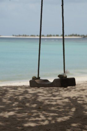Swing at Paradise Beach, Carriacou