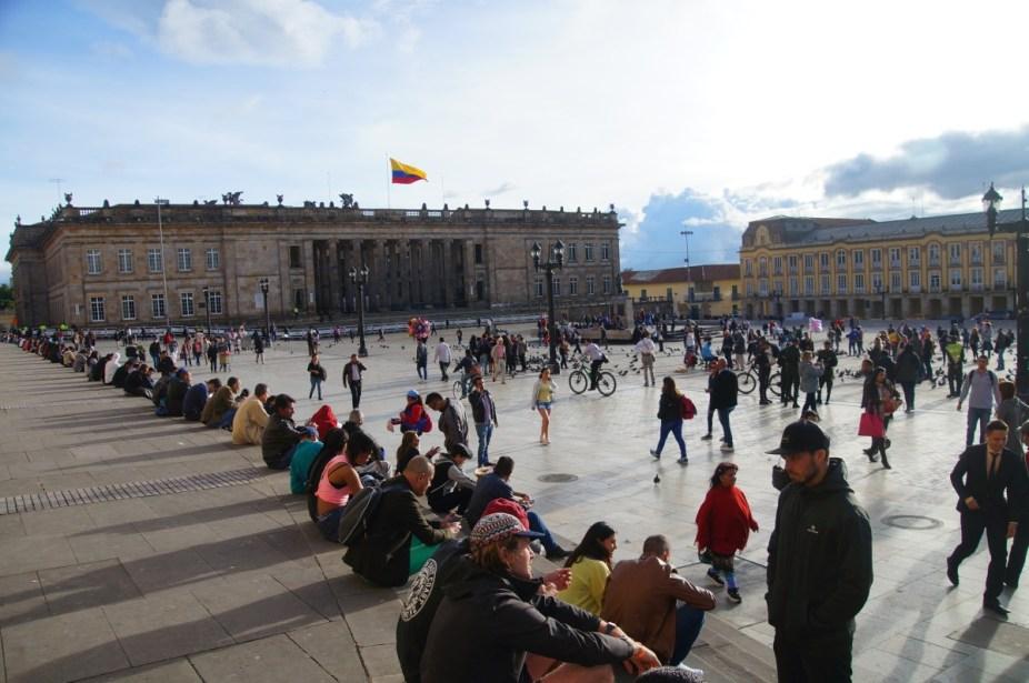 Der Plaza Simon Bolivar