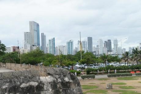 Blick auf den modernen Teil Cartagenas