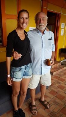 Verabschiedung von Bob, für mich geht's weiter nach Bocas del Toro