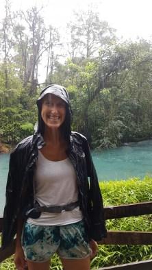 Blue Lagoon auf dem Hinweg bei Regen